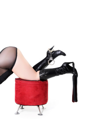 These boots were made for walkin'. And tramplin' and being worshipped!